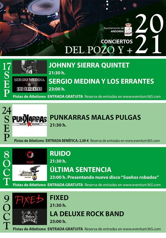 Conciertos 'Del Pozo y +' en Andorra