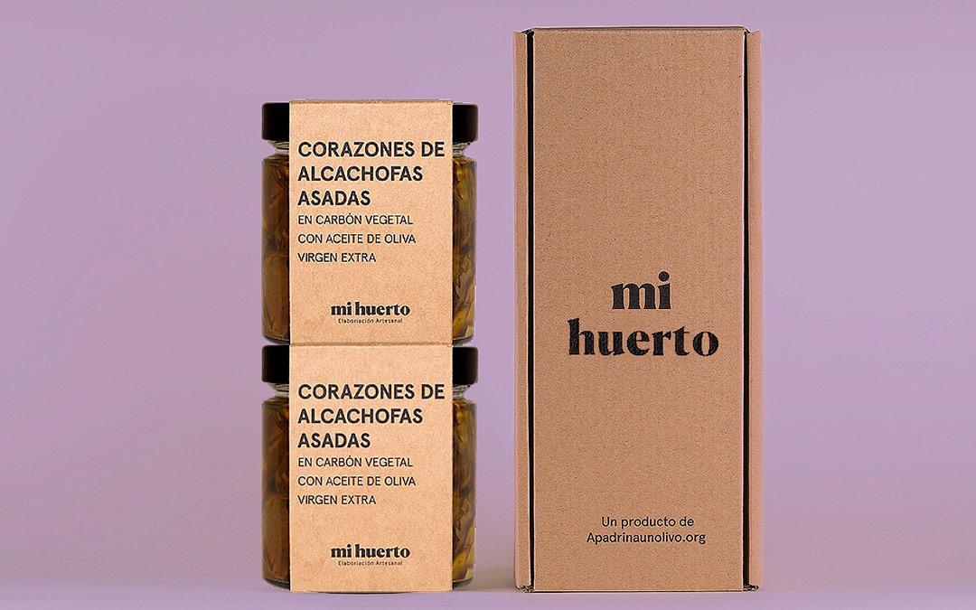 Corazones de alcachofas asadas Mi Huerto./ Comarca Andorra - Sierra de Arcos