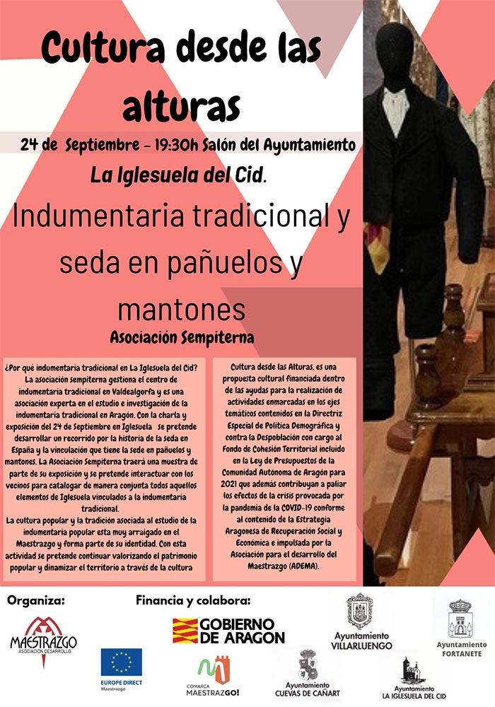 'Cultura desde las alturas' en La Iglesuela del Cid