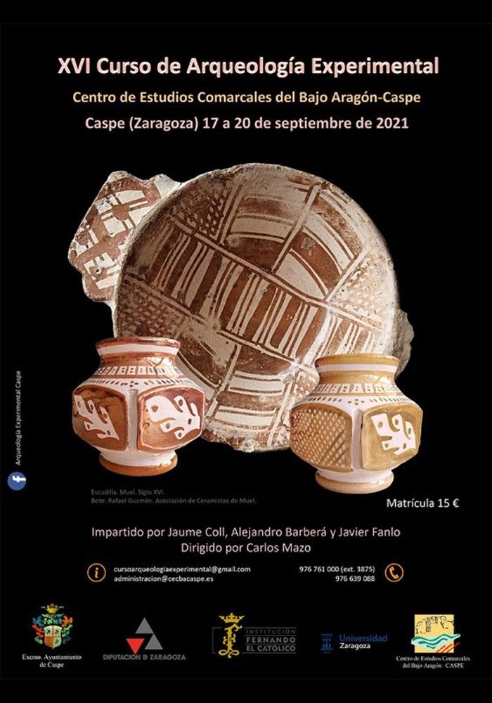 XVI Curso de Arqueología Experimental en Caspe