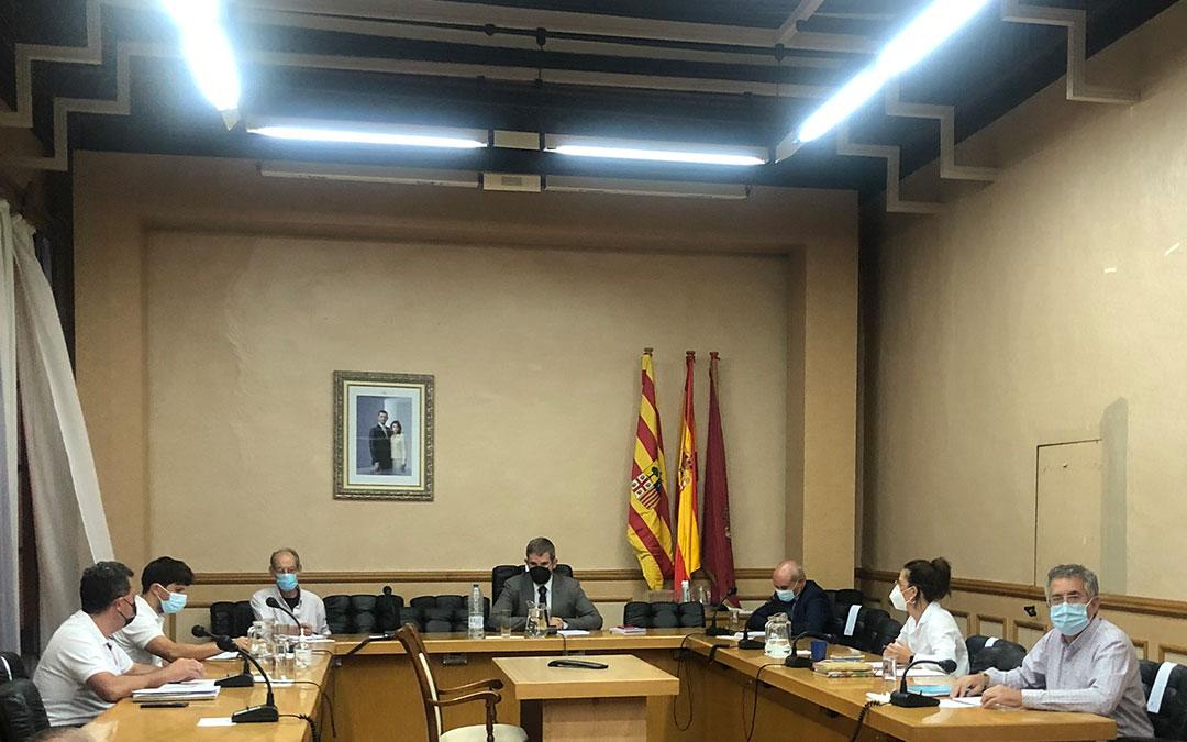 Debate del Estado de la Ciudad de Alcañiz de 2021 celebrado este martes / L. Castel