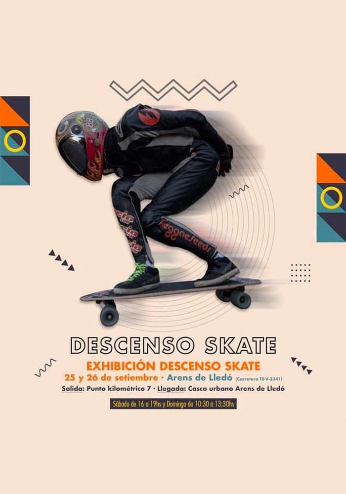 Descenso Skate Arens de Lledó