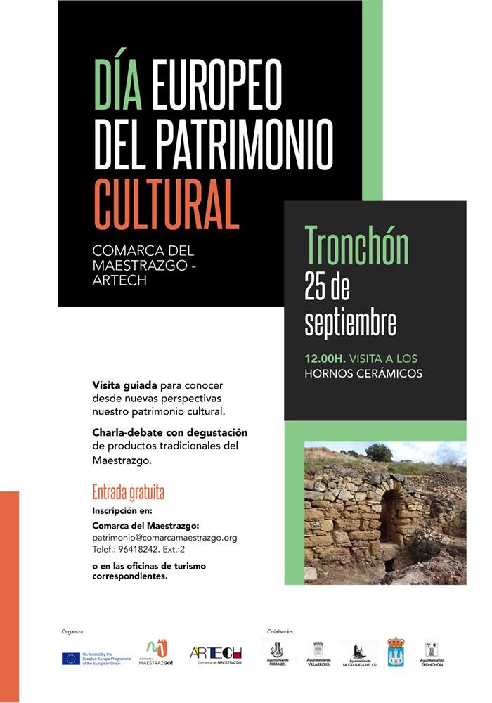 Día Europeo del Patrimonio Cultural en Tronchón