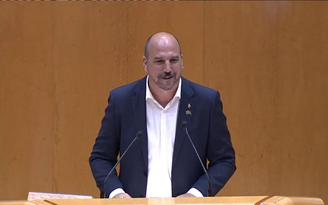 Joaquín Egea, senador de Teruel Existe./Teruel Existe