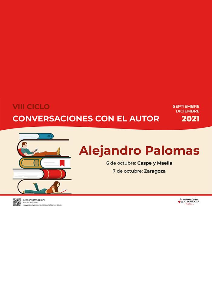 VIII Ciclo 'Conversaciones con el autor' en Caspe y Maella
