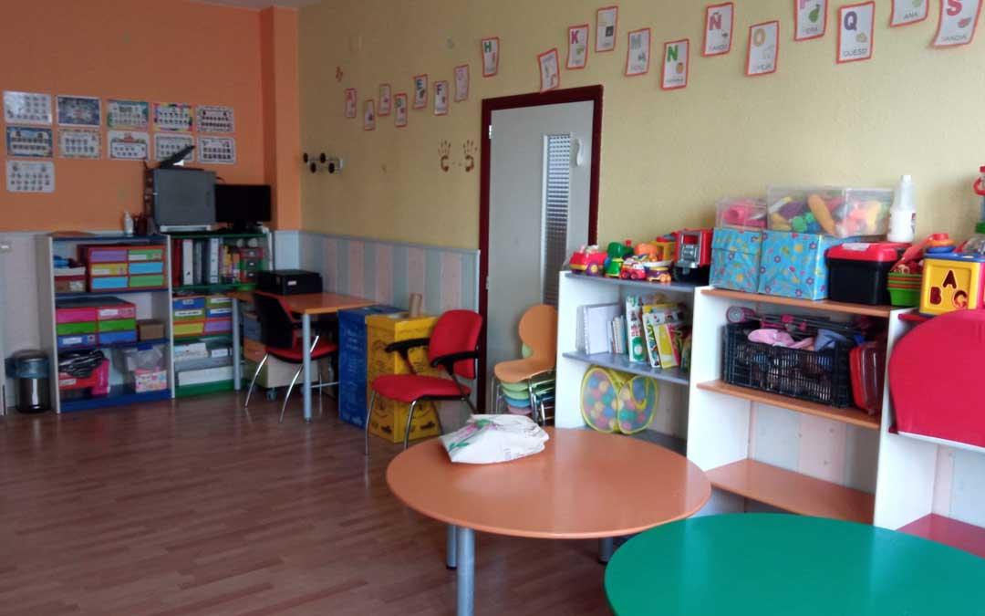 Interior de la escuela infantil de Cantavieja. Foto. Ayto. Cantavieja