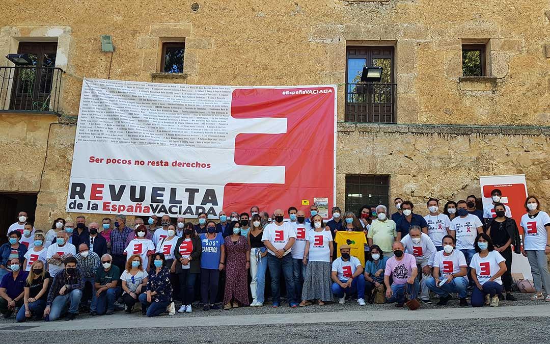 Asistentes a la III Asamblea General de la España Vaciada, celebrada en Priego./ Coordinadora España Vaciada