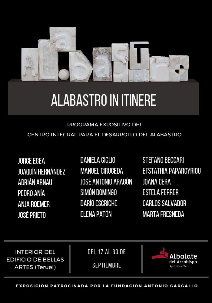 'Alabastro in itinere' en Teruel