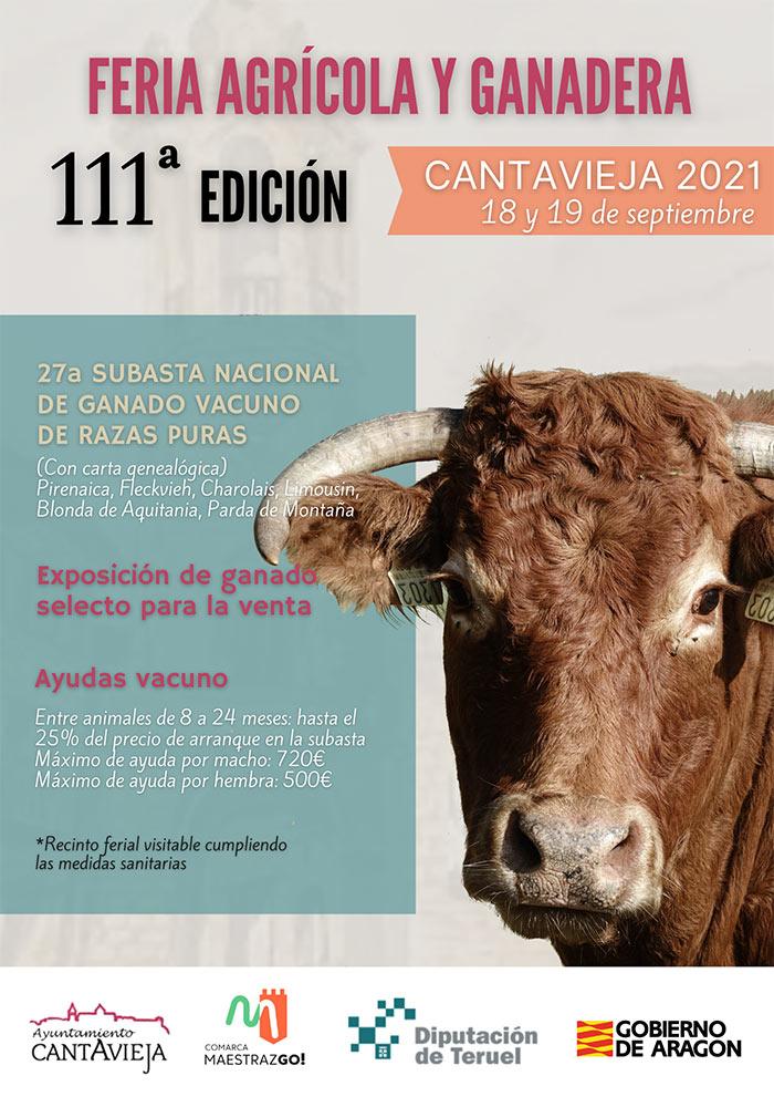 111ª Edición de la Feria Agrícola y Ganadera en Cantavieja
