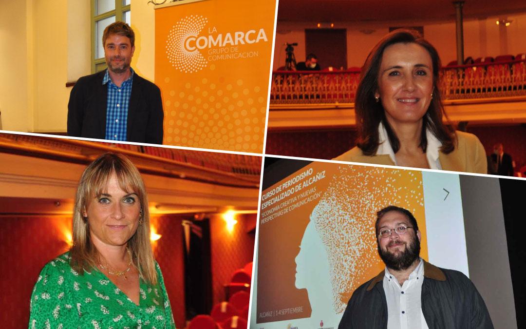 Alicia González, Miquel Roig, Estela Santos y Marcos Iriarte./ L.C.
