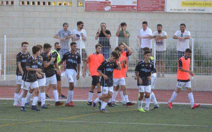 El Alcañiz C.F. de Liga Nacional Juvenil arranca la temporada con victoria