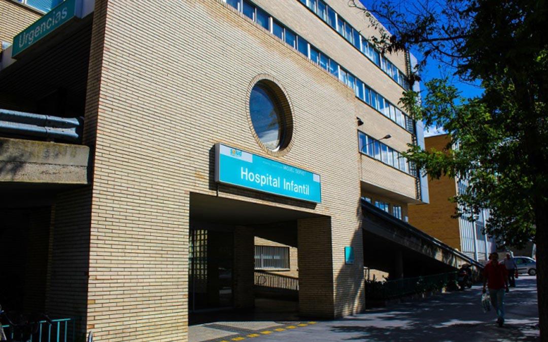 Hospital Infantil Miguel Servet de Zaragoza./ CADENA SER