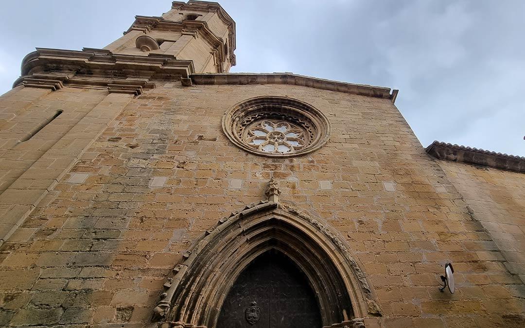 Iglesia Torre del Compte Vía Verde Val de Zafán