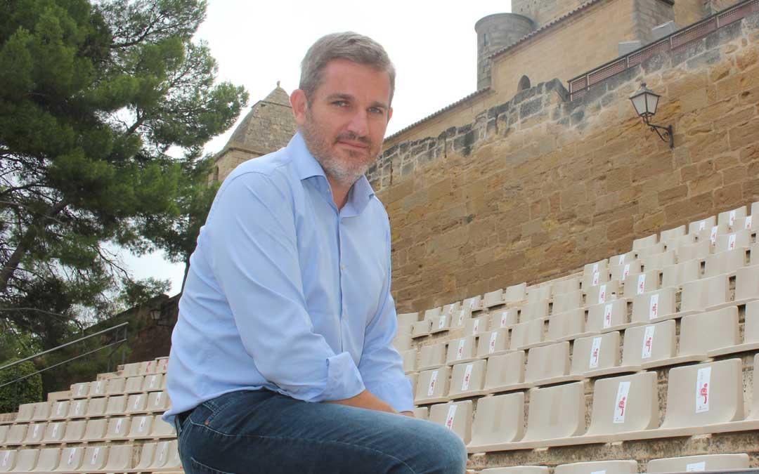 El alcalde de Alcañiz, Ignacio Urquizu./ L. Castel