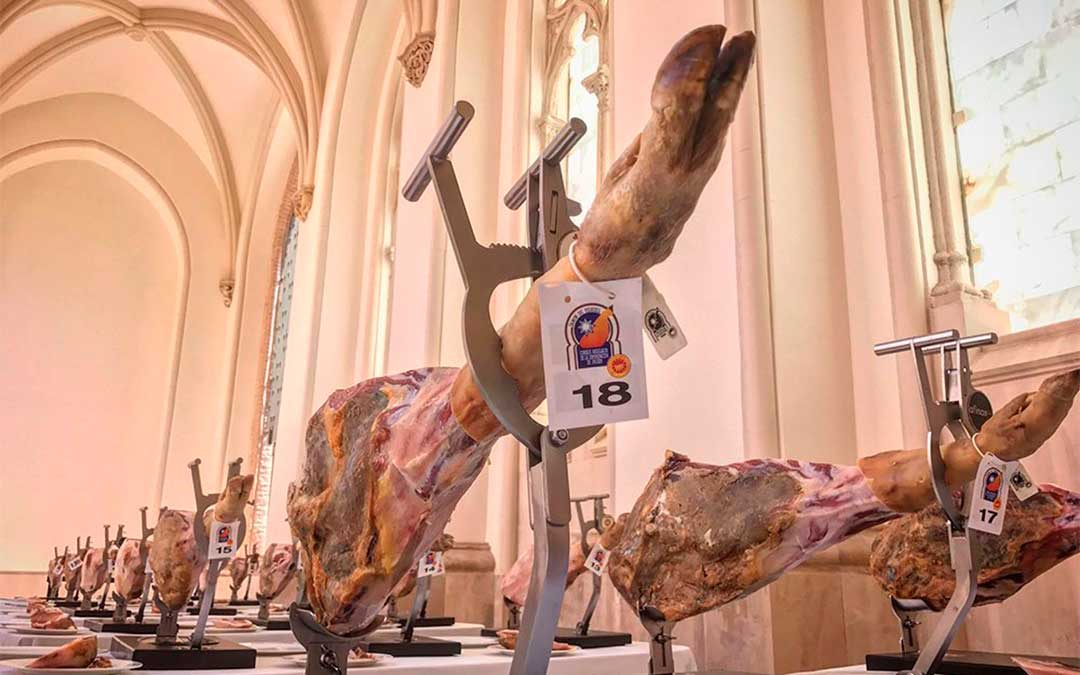 Este año han participado 25 marcas de jamón y 9 de paleta de Teruel. / CRDOP Jamón de Teruel