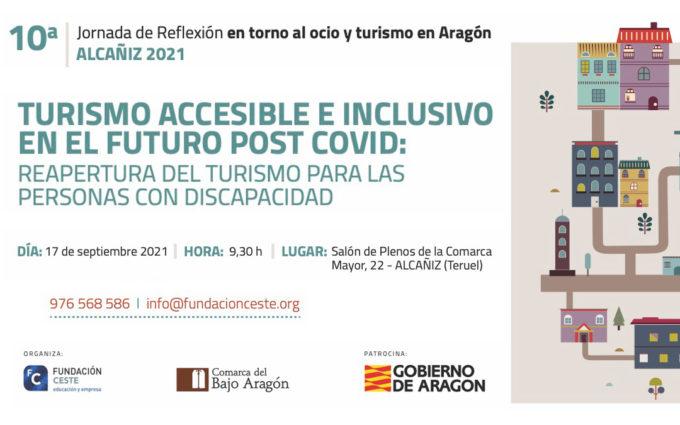 Llega a Alcañiz la primera jornada de turismo accesible e inclusivo en el futuro post-covid