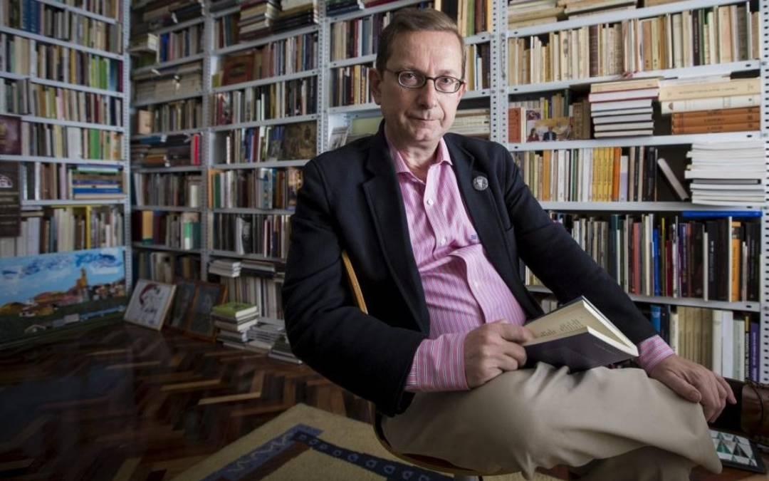 El escritor José Luis Melero./ Oliver Duch-Heraldo