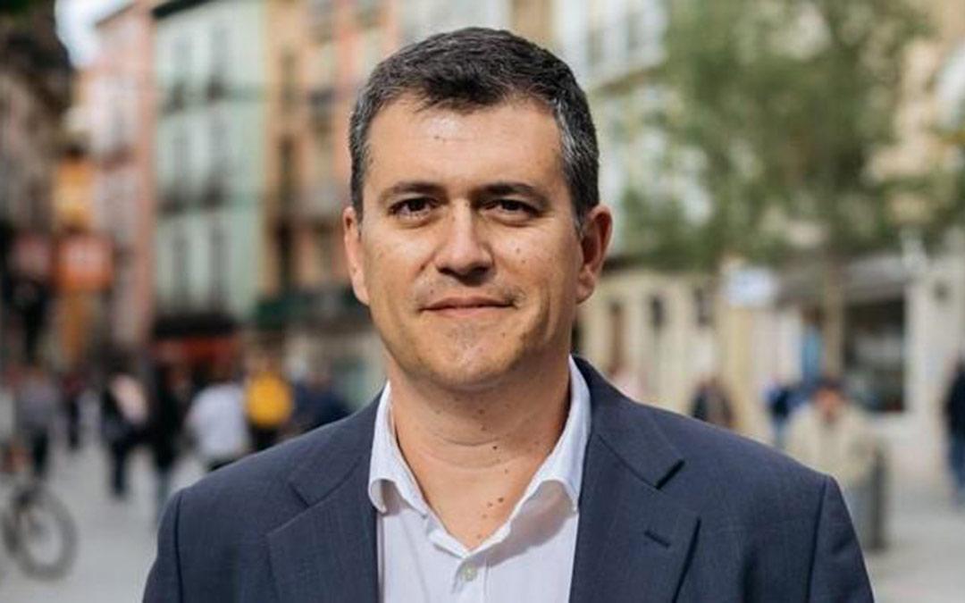 El presidente de Chunta Aragonesista, Joaquín Palacín./CHA