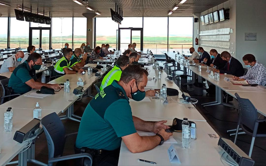 Motorland acogió ayer una Junta de Seguridad de MotoGP para ultimar los preparativos para el Mundial / Delegación del Gobierno