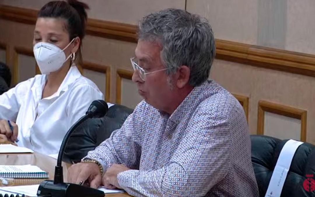Kiko Lahoz es el concejal de Ciudadanos en el Ayuntamiento de Alcañiz / Youtube