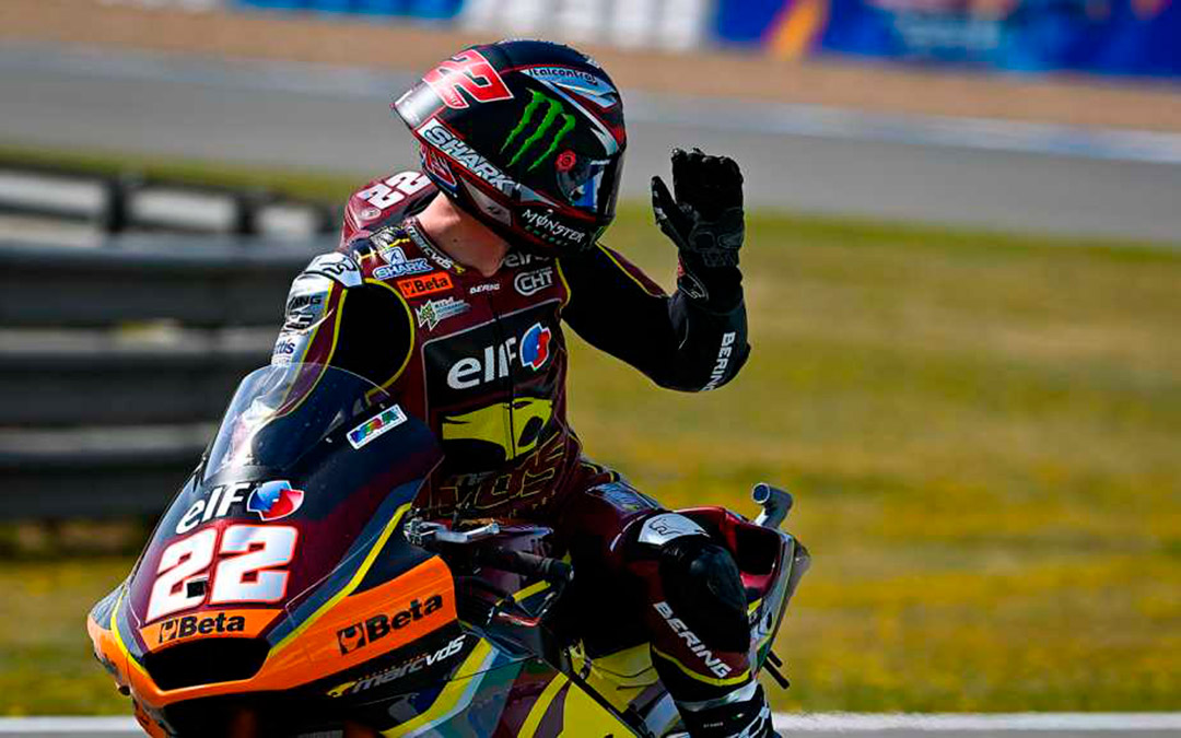 Sam Lowes lidera Moto2./ MotoGP