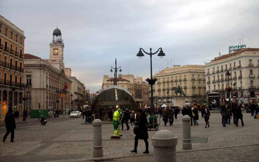 El recorrido inicialmente previsto finalizará en la Puerta del Sol. J.L.
