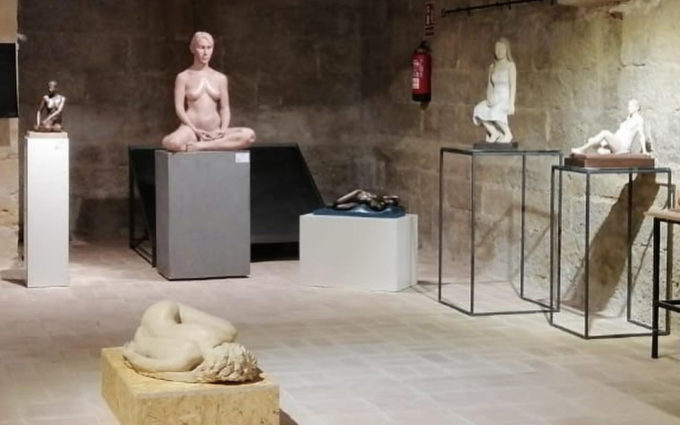 Albalate acoge desde este sábado una exposición con 72 esculturas del ICRE