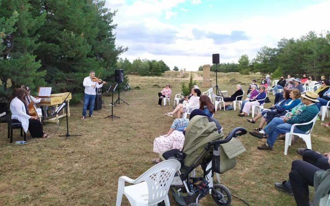 Un centenar de personas acuden al festival 'Maestrazgo, un paisaje de música'