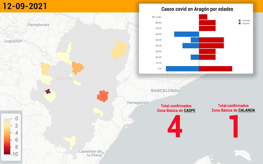 El sector de Alcañiz registra 5 nuevos casos de coronavirus