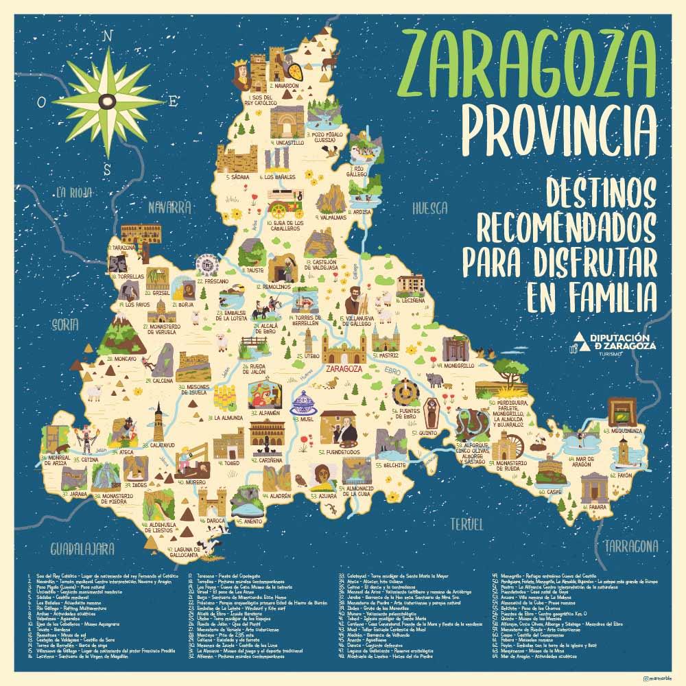 Zaragoza Provincia./ Diputación de Zaragoza