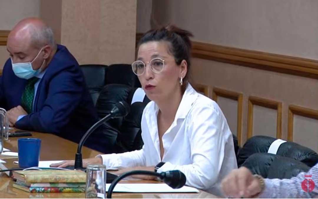 María Milián es la concejal de Ganar-IU / Youtube
