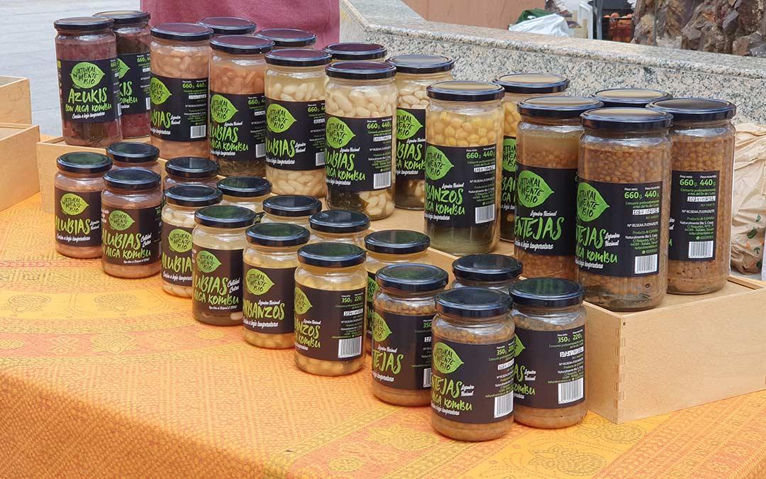 Conservas en Mercado Agroecológico./ Comarca Andorra - Sierra de Arcos