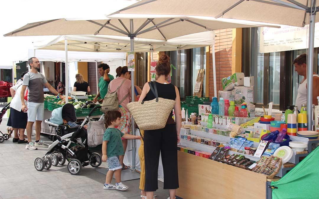 Mercado Agroecológico./ Comarca Andorra - Sierra de Arcos