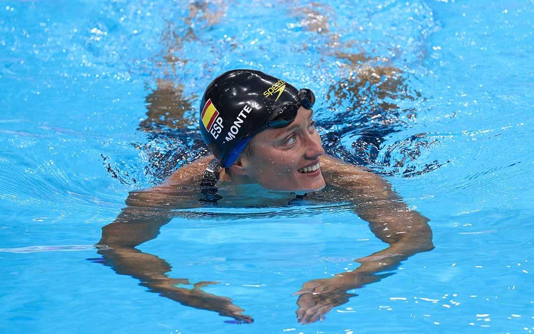 Mireia Belmonte, nadadora y abanderada de los últimos JJOO en Tokio 2020, será la Embajadora del Melocotón de Calanda. / @COE_es Comité Olímpico Español