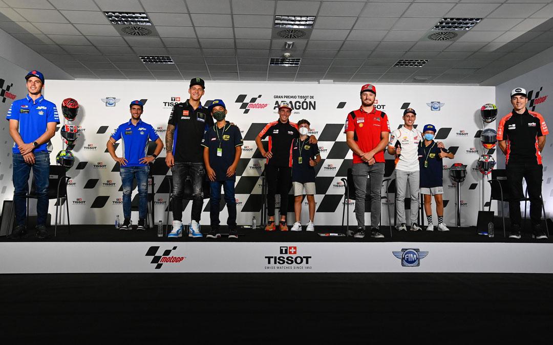 En la rueda de prensa de este jueves hubo preguntas de los pilotos más jóvenes. / MotoGP