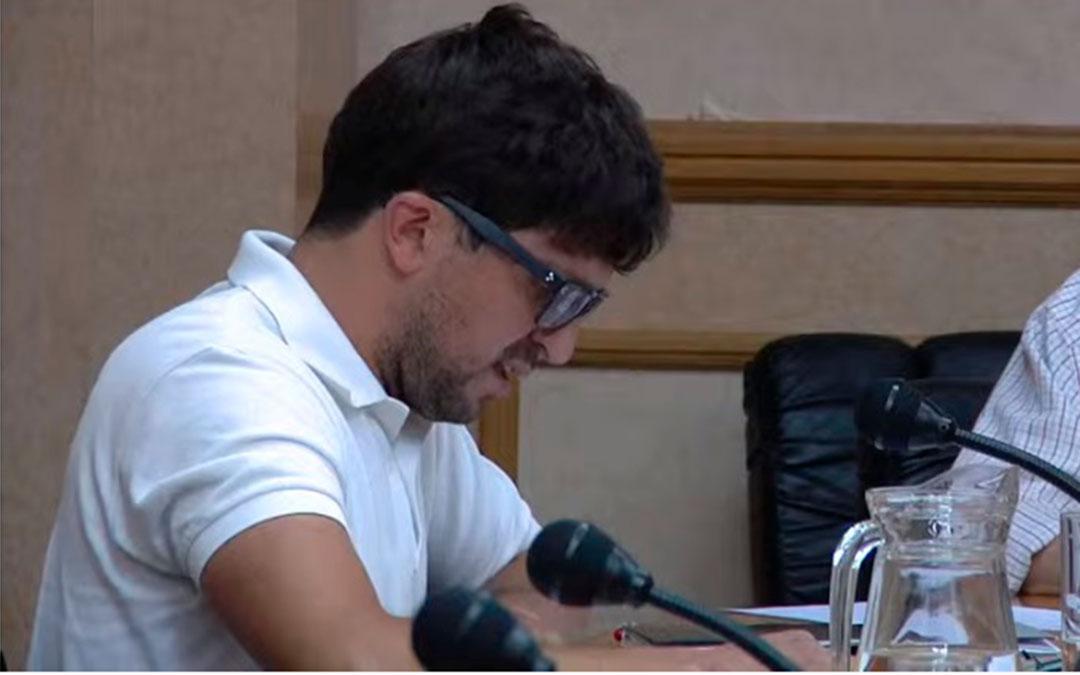 Nacho Carbó es el portavoz del PP / Youtube