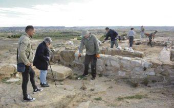 Se confirma la existencia de una gran casa de planta itálica en El Palao de Alcañiz