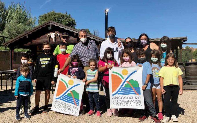 La Asociación de Amigos del Río realiza el anillamiento de aves en otoño