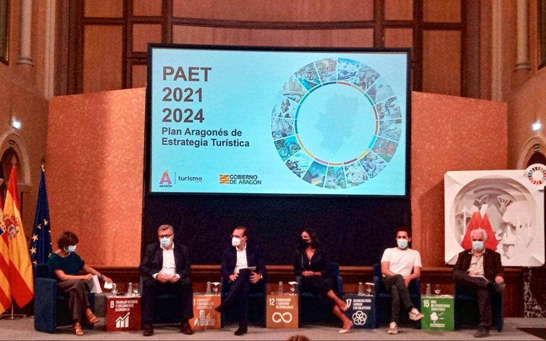 Presentación del nuevoPlan Aragonés de Estrategia Turística 2021-2024 (PAET)./ DGA