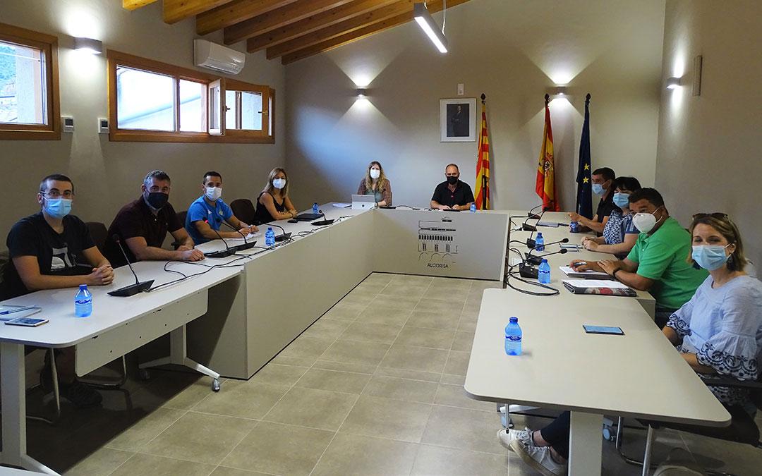Pleno extraordinario de Alcorisa celebrado el jueves 2 de septiembre./ Ayuntamiento de Alcorisa