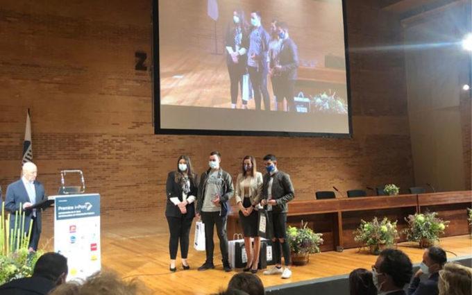 Los caspolinos Raúl Gálvez y Pau Fontanet, galardonados con los premios i-Porc