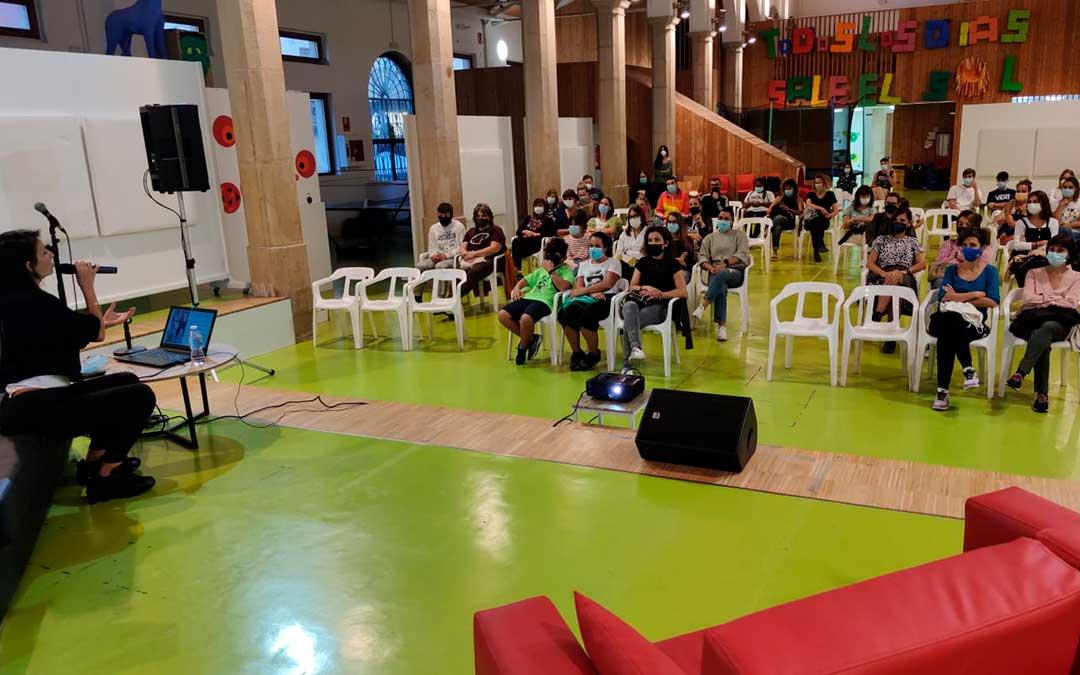 La Psico Woman el viernes en el Centro Joven de Alcañiz / A. Gracia