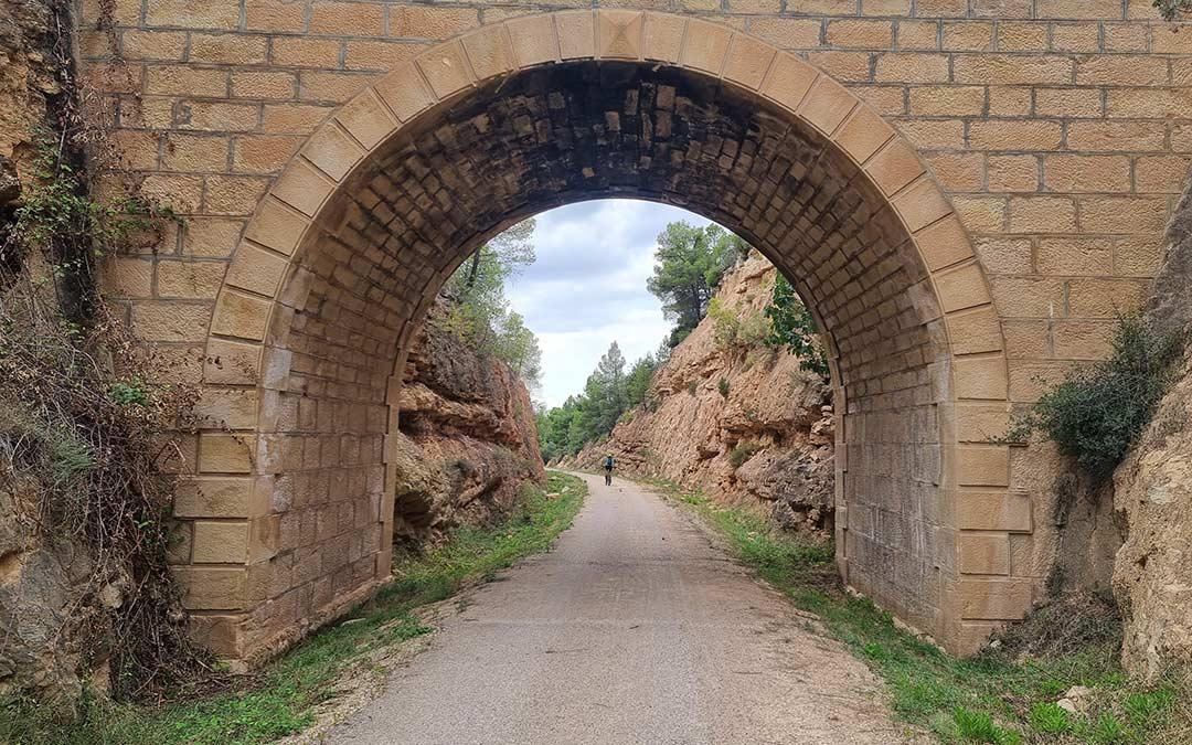 Puente Vía Verde Val de Zafán