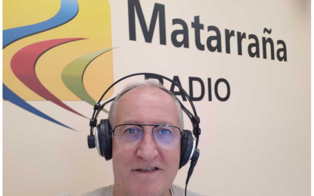 Javier Vílchez en Matarraña Radio./ J.V.