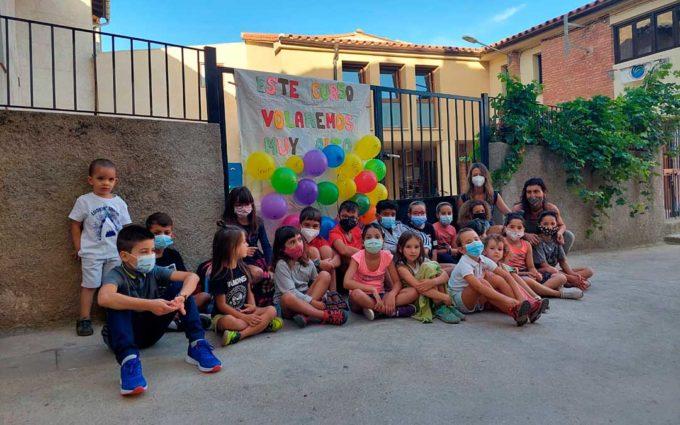 Ráfales estrena una nueva aula en la escuela municipal que cuenta con 20 alumnos