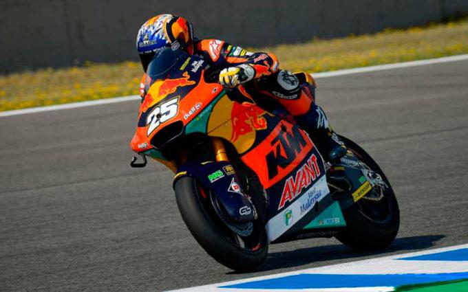 Heroico triunfo de Raúl Fernández en Moto2
