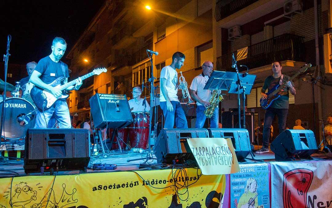 La banda bajoaragonesa 'Snails' actuará en el festival./ Albajam