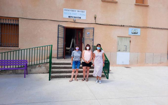 Más de cien centros educativos de la provincia de Teruel inician el curso con mejoras en sus instalaciones