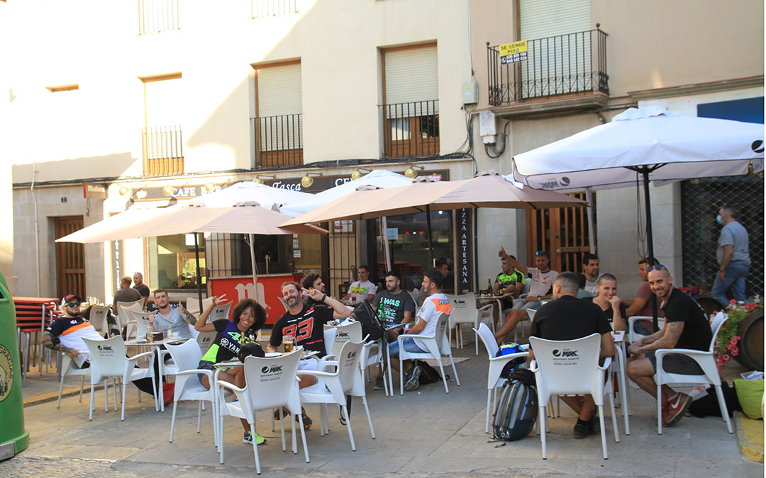 Ambiente en el centro de Alcañiz. Laura Martínez