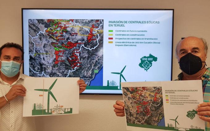 Teruel Existe denuncia que los proyectos eólicos ocuparán el 10% de la provincia